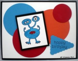 Make a Monster Kids Card