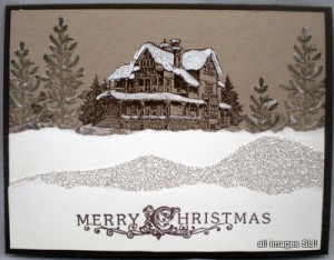 Christmas Lodge stamp set