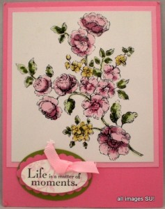 stampin up greeting card
