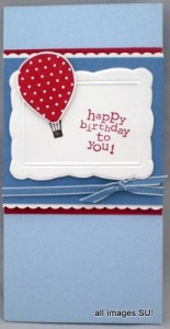 up, up & away birthday card
