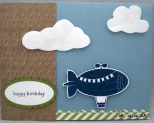 Moving Forward Kids Birthday Card