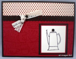 monring cup of coffee card