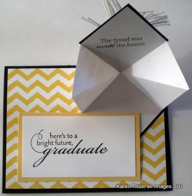 fun fold graduation card idea
