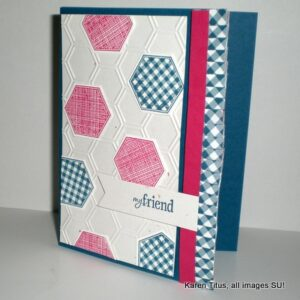 Six Sided Sampler handmade card