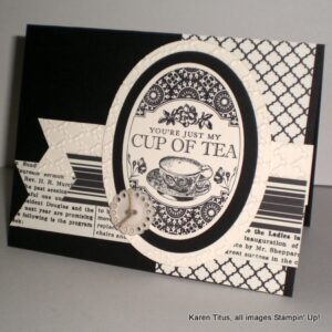Tea Party stamp set