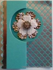 circle card thinlits card idea