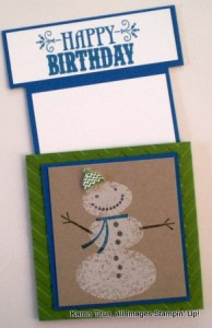 handmade pull out card
