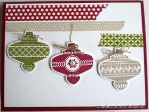 christmas ornament punch
