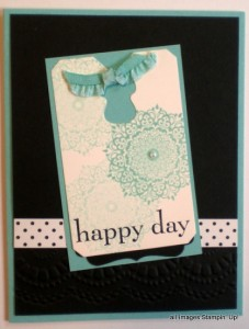happy day stampin up set