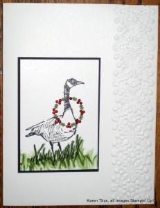 wetlands christmas card