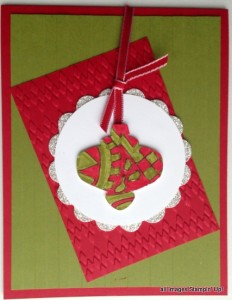 Christmas Ornament Card