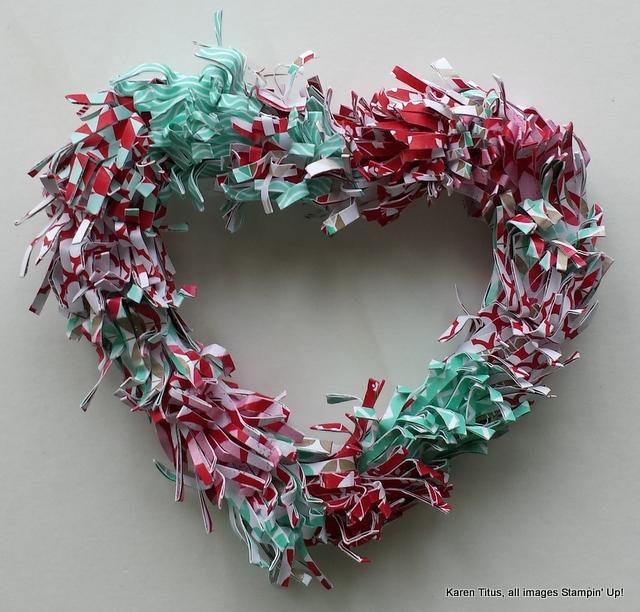 Fringe Scissors Makes a Wreath
