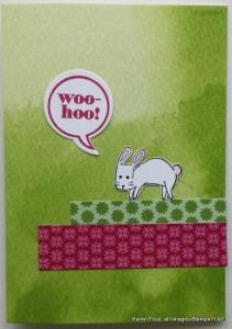cute handmade kids card