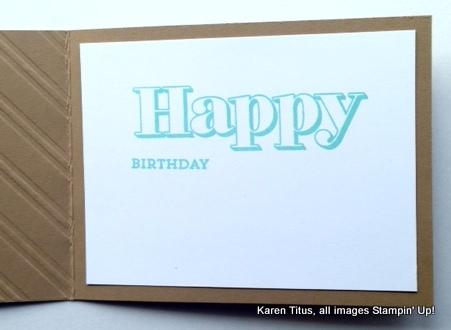 happy birthday handmade card