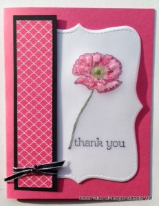 handmade card technique