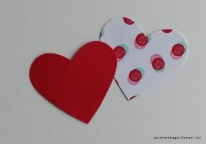 make a heart bookmark
