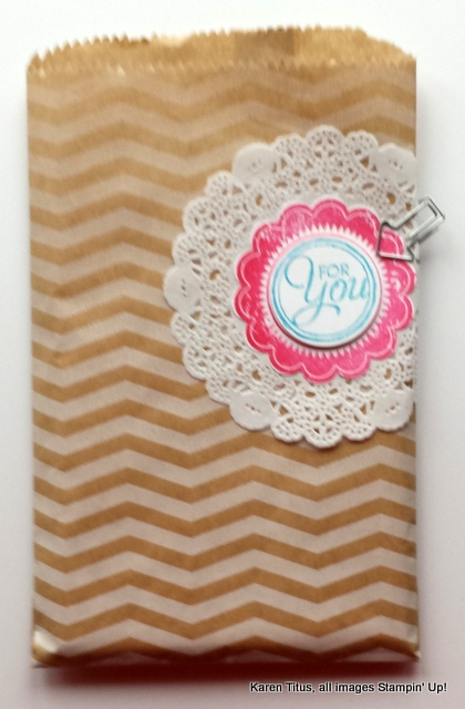 stampin up gift wrap