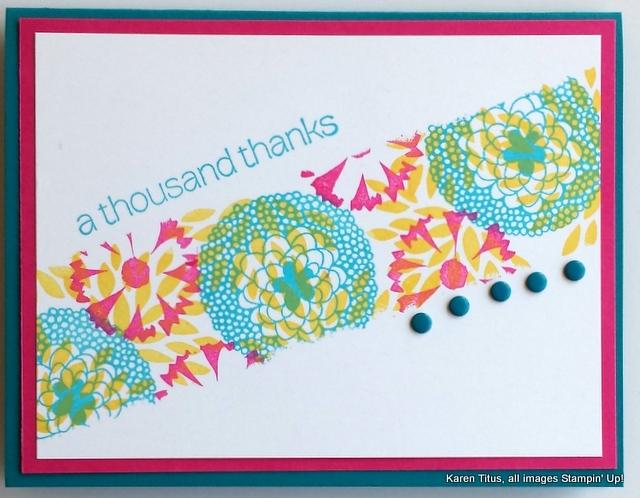 petal parade card