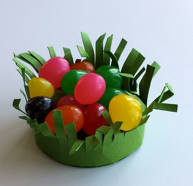 handmade easter basket