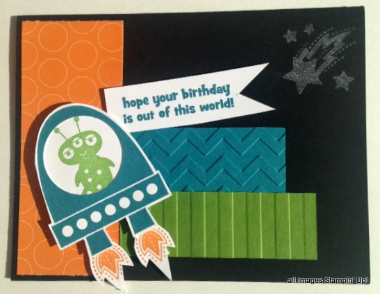 kids birthday card