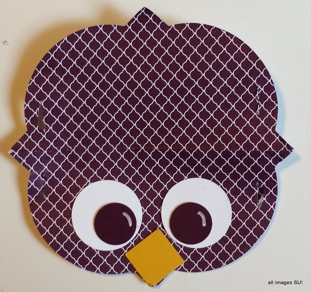 owl bag topper