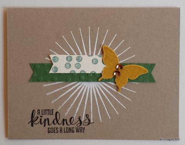 handmade stampin up card