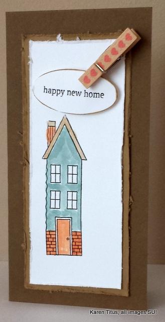 Holiday Home handmade card