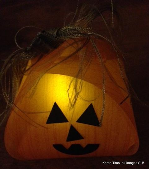 """""""spooky"""" halloween craft"""