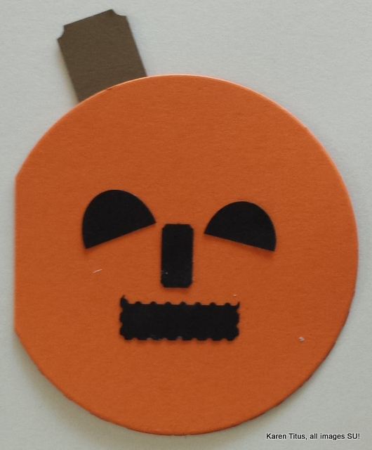 pumpkin card for kids to make