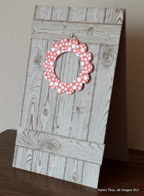 punch art wreath