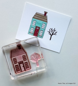 holiday home card tutorial