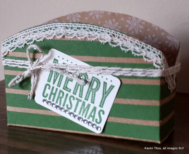 circle gift box handmade