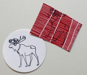 stampin up moose