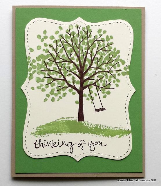 Sheltering Tree handmade card