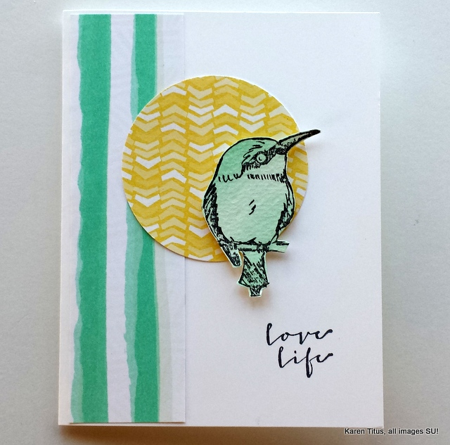 a happy thing bird card