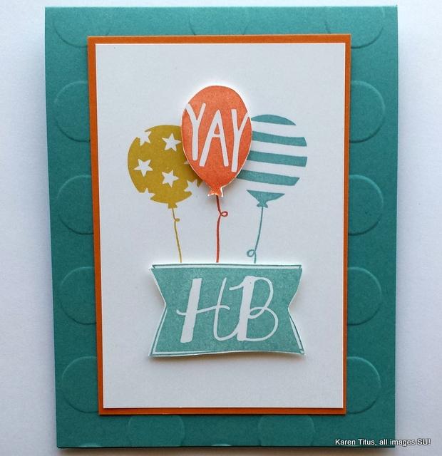balloon bash stamp set