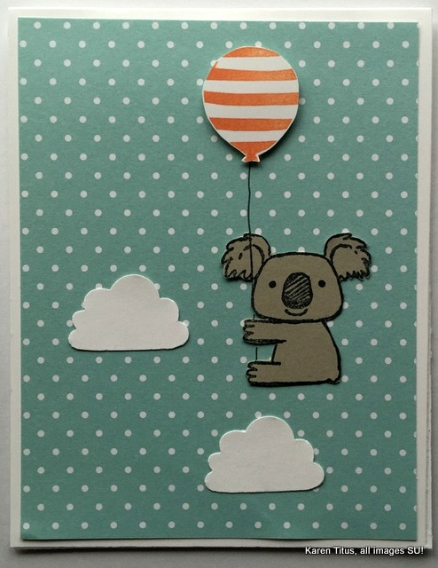 kind koala stamp
