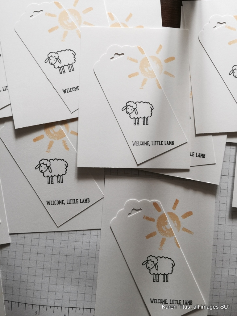 mass producing baby cards