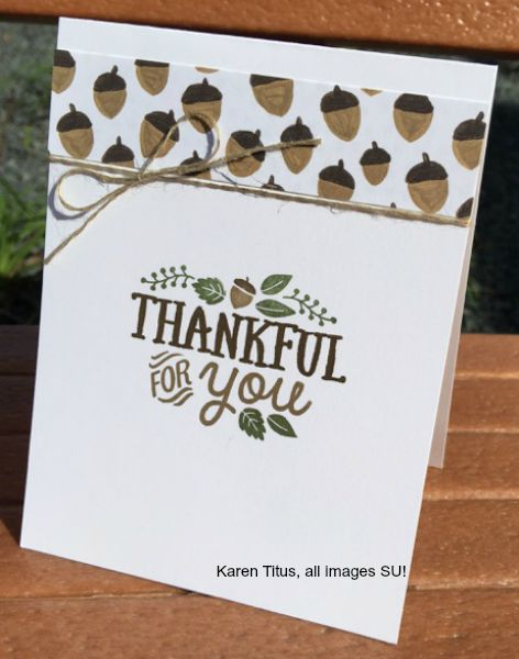thankful forest friends stamp set
