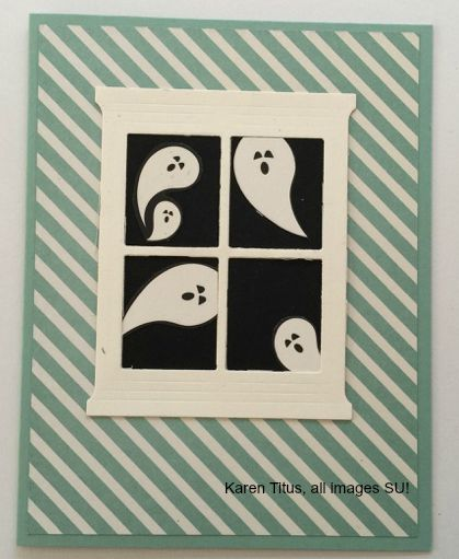 halloween handmade card