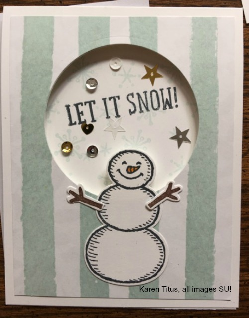 snow place stampin up