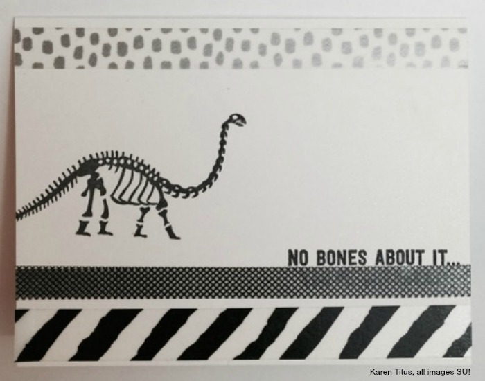 no bones about it handmade card