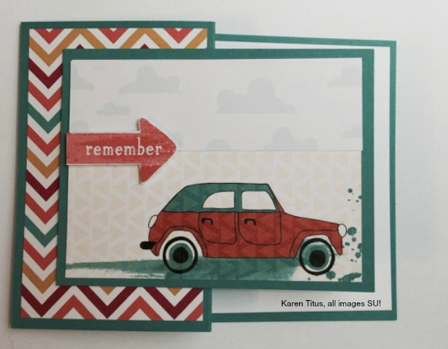 project life by stampin up for handmade cards