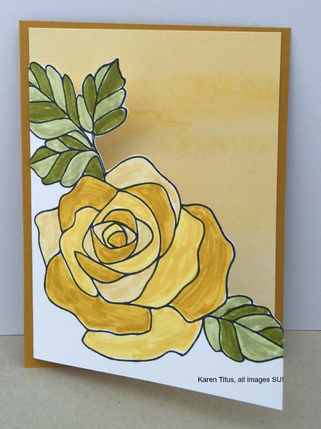 watercoloring Rose Wonder