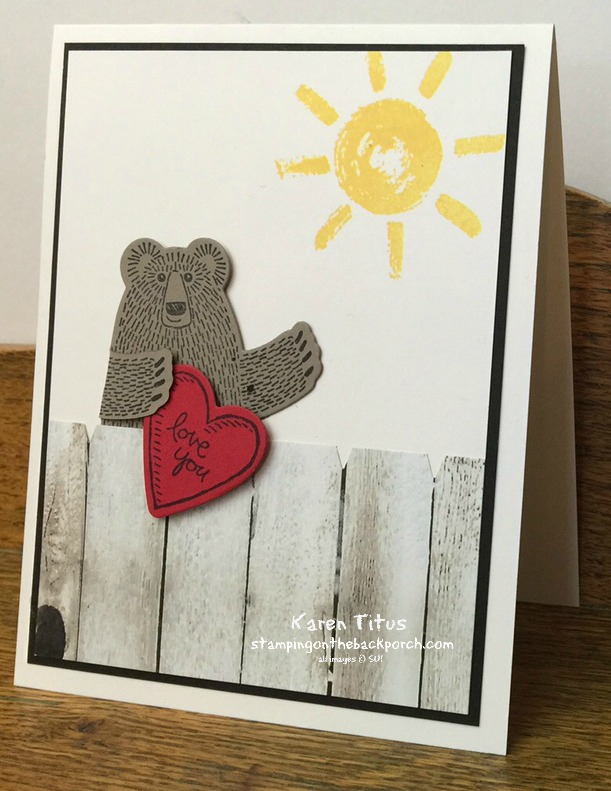 Bear Hugs stamp set