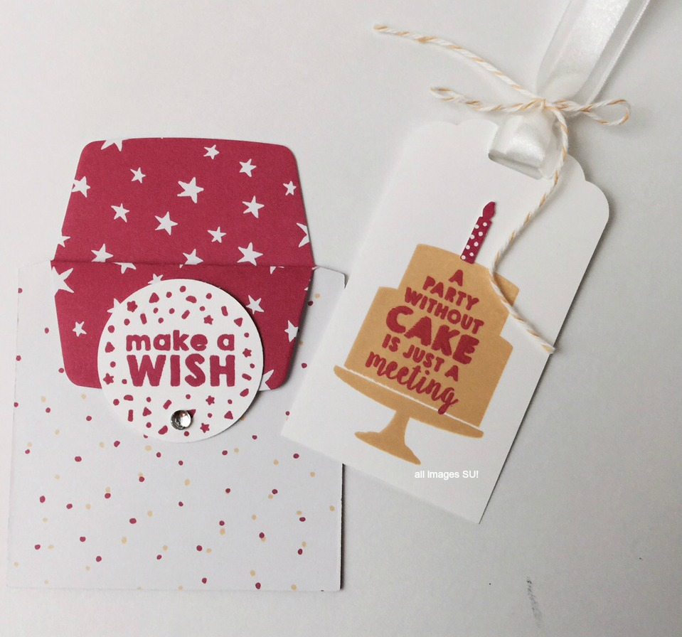 gift tag and holder