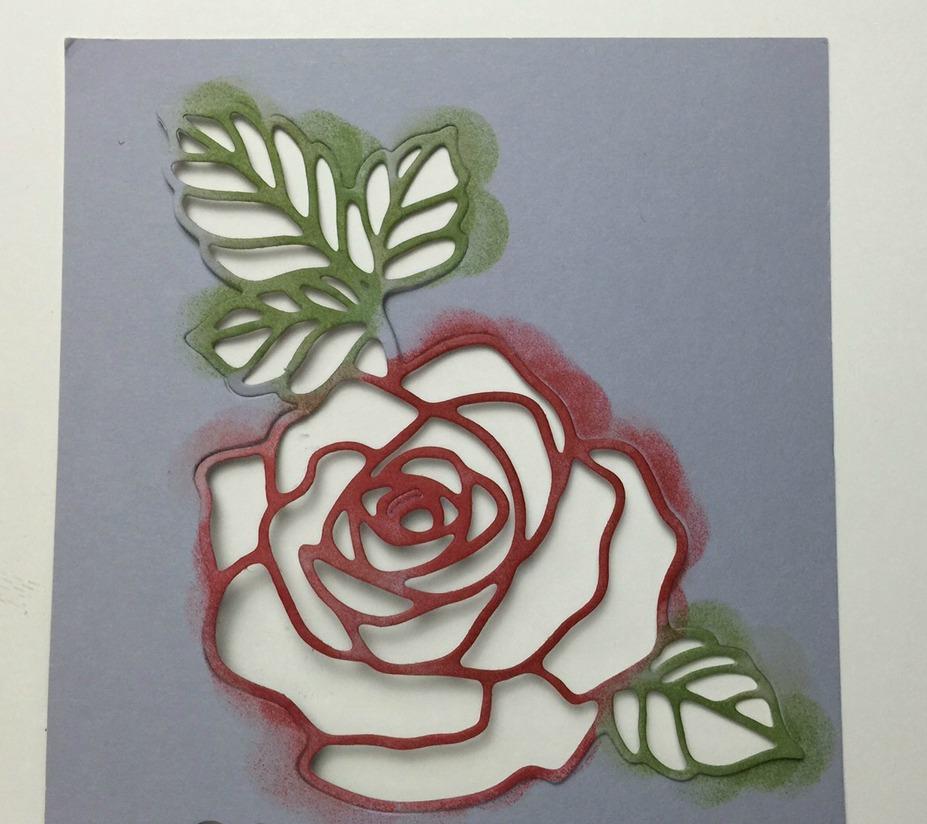 rose garden thinlits stampin up