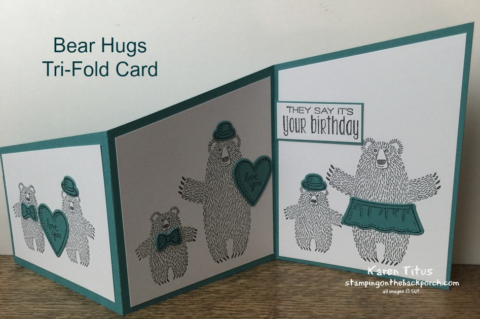 trifold card tutorial