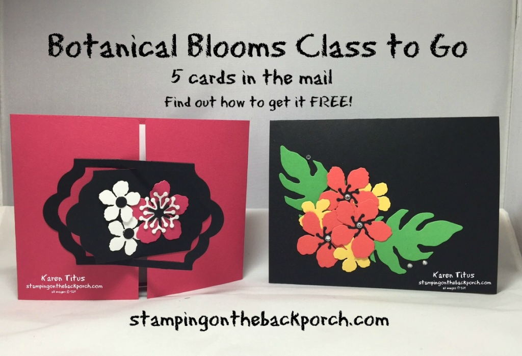 stamping class in the mail