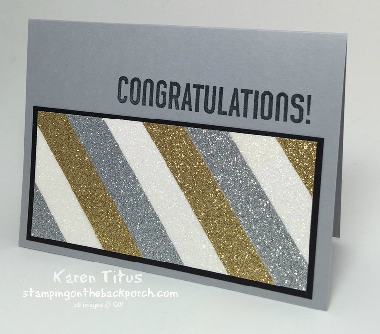 quick & easy congrats card